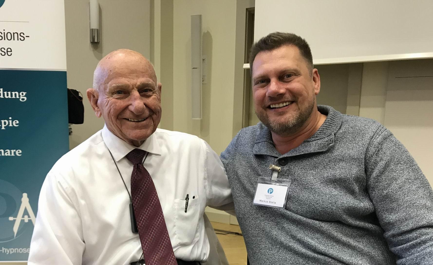 Dr. Edwin K. Yager und Markus Stalla